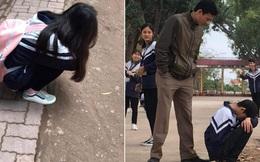 28 Tết vẫn phải đi học lại còn kiểm tra 15 phút, cậu học trò suy sụp ôm đầu ngồi khóc trong cái nhìn đầy thương cảm của thầy giáo