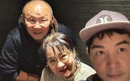 HLV Park Hang-seo và gia đình đón năm mới tại Nhật Bản