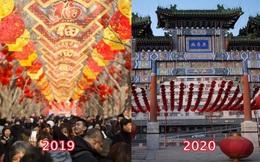Loạt ảnh cho thấy sức ảnh hưởng của dịch viêm phổi Vũ Hán ở Trung Quốc: Tết Nguyên Đán chỉ cách nhau 1 năm mà khác biệt hoàn toàn