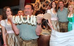 'Kẻ huỷ diệt' Arnold Schwarzenegger vui vẻ bên bạn gái kém 27 tuổi