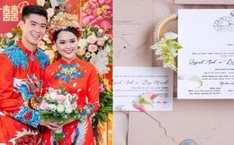 Lộ diện thiệp mời đám cưới cổ tích của Duy Mạnh và Quỳnh Anh: Đàm Vĩnh Hưng là người đầu tiên xác nhận tham dự