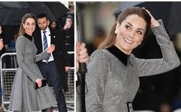 Công nương Kate xinh đẹp xuất thần trong sự kiện mới, cuộc sống ngày một lên hương sau khi em dâu Meghan ra ở riêng