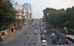 Ảnh: Đường phố Hà Nội nơi thoáng đãng, nơi ùn tắc trong ngày đi làm đầu tiên của năm 2020