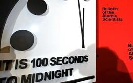 Đồng hồ Tận thế cách thời khắc nửa đêm chỉ 100 giây: Nguy cơ nhân loại diệt vong đầu năm 2020 đã cao hơn cả thời Chiến tranh Lạnh