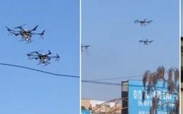 Đại dịch virus corona: Trung Quốc huy động đội quân máy bay không người lái