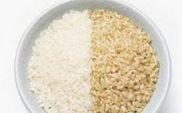 Gạo còn cám đen có tốt hơn gạo trắng?