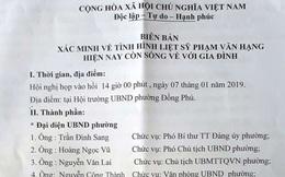 Liệt sĩ ở Quảng Bình trở về sau 36 năm mất tích khi đi chiến trường Campuchia