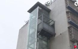 Chiều con rể lười leo bộ, bố vợ lắp luôn thang máy ốp tường phục vụ riêng
