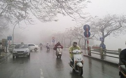 Ngày mai Hà Nội lại có mưa, rét kéo dài