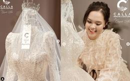 Quỳnh Anh hé lộ chiếc váy cưới đẹp nhất đời, khiến Duy Mạnh mê mẩn ngắm nhìn