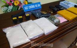 Phát hiện nhiều súng, đạn trong tụ điểm ma tuý lớn ở Nam Định