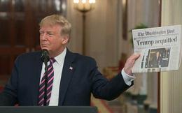 Ông Trump trút hết ân oán sau phiên tòa luận tội