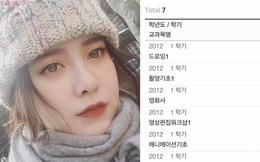 Goo Hye Sun tuyên bố không du học Anh về Hàn học trường khủng, nhưng bảng điểm mới là điều gây choáng