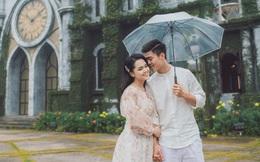 """Bộ ảnh cưới đơn giản đến bất ngờ của cầu thủ Duy Mạnh nhưng độ """"bắt trend"""" thì khỏi bàn, những chi tiết trong đám cưới sắp tới dần được hé lộ"""