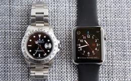 Bi kịch 'smartphone vs máy ảnh số' có thể đang lặp lại với Apple Watch và đồng hồ Thụy Sĩ