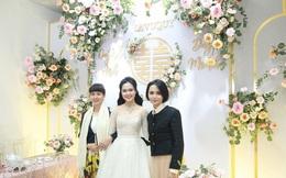 Chị gái Quỳnh Anh tiết lộ chi phí đám cưới em gái nhưng dân tình lại choáng ngợp với dây chuyền đính 186 viên kim cương giá 800 triệu trên cổ cô dâu