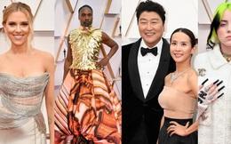 """Siêu thảm đỏ Oscar 2020: Dàn sao """"Ký Sinh Trùng"""" siêu đỉnh, Billie Eilish lép vế trước sao nam """"chặt chém"""", sự kiện hỗn loạn vì mưa lớn"""