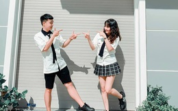 Cặp đôi Tây Ninh yêu từ lớp 8, chung size áo quần hay giày dép: Cả 1 thập kỉ trôi qua, thật may là chúng mình vẫn còn yêu