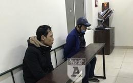 Cảnh sát Cơ động bắt 'nóng' 2 tên trộm vừa bẻ khóa xe máy