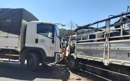 Tai nạn liên hoàn trên QL14, giao thông tê liệt nhiều giờ đồng hồ