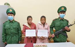Hai thiếu nữ Lào vận chuyển ma túy vào Việt Nam tiêu thụ