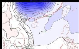 Thông tin chính thức về đợt gió mùa đông bắc đang tràn xuống miền Bắc