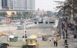 80% điểm ùn tắc mới ở Hà Nội do công trường thi công