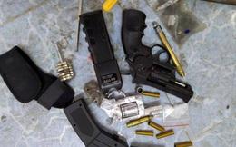 Thanh niên bị bắt vì tàng trữ ma túy và nhiều súng đạn