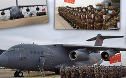 Đối phó dịch Corona, Trung Quốc lần đầu dùng vận tải cơ chiến lược Y-20