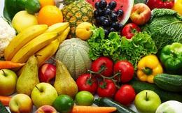 """10 phần rau, quả mỗi ngày là """"chìa khóa"""" để kéo dài tuổi thọ"""