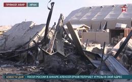 Căn cứ quân sự Mỹ ở Iraq bị tên lửa phá tan hoang