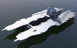 Hải quân Nga chấp nhận thiết kế tàu sân bay hai thân chưa từng có