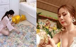 """Người chị trong màn trao hồi môn 49 cây vàng cùng 2,5 tỷ cho cô dâu hóa ra là gái xinh Sài Gòn từng bị tố """"làm màu"""" khi đập heo đất 1 lần mà được ngót 3 tỷ"""