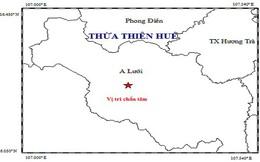 Động đất ở huyện miền núi A Lưới