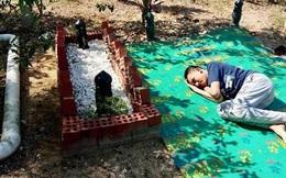 Cậu bé tuần nào cũng đến nằm cạnh mộ cha thủ thỉ tâm sự, sự thật phía sau khiến cư dân mạng không cầm được nước mắt