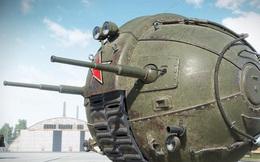 """Khám phá mẫu xe tăng hình cầu """"kỳ dị"""" nhất của Liên Xô"""