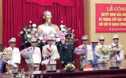 Công bố quyết định thăng cấp bậc hàm Thiếu tướng đối với Giám đốc Công an Quảng Nam