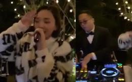 """Clip """"hot"""" giờ mới được công bố: Tóc Tiên vừa hát vừa """"quẩy"""" hết nấc, Hoàng Touliver chơi nhạc trong tiệc cưới"""