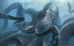 """""""Quỷ khổng lồ Biển Bắc"""": Sinh vật có cùng kích thước với cá voi xanh có thể thực sự tồn tại ?"""