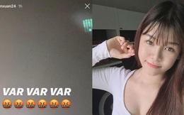 Yến Xuân nổi đoá với VAR vì gián tiếp khiến đội Văn Lâm thua trận ở Giải VĐQG Thái Lan