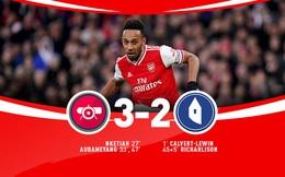 Arsenal 3-2 Everton: Lấy công bù thủ, chiến thắng nghẹt thở!