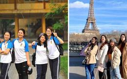 Hội bạn thân nhà người ta: 5 năm trước học cùng trường, 5 năm sau đã cùng nhau sang Paris học Thạc sĩ!