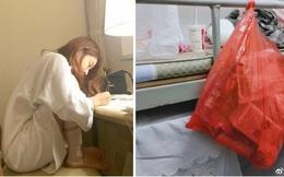 Nữ sinh treo túi rác ngay trên đầu bạn cùng kí túc xá nhưng vẫn 'chày cối' khi bị góp ý: Ở chung mà sao kì vậy?