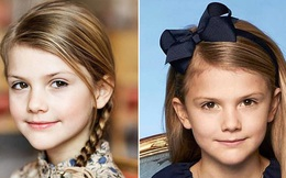 Hoàng gia Thụy Điển đăng ảnh Công chúa Estelle nhân dịp sinh nhật, dân mạng không khỏi trầm trồ vì dung mạo giống hệt người kế vị ngai vàng