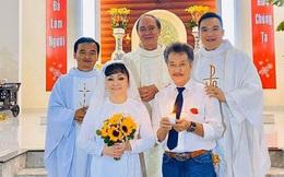 Danh ca Hương Lan bất ngờ làm cô dâu ở tuổi 63, tổ chức hôn lễ tại nhà thờ Ba Giồng, Tiền Giang