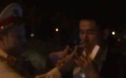 Một tài xế ở Đà Nẵng bị phạt kịch khung vì nhậu rồi lái xe