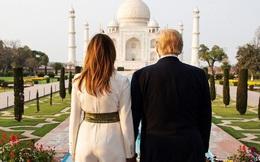 'Nữ thần' Ivanka Trump khoe ảnh hạnh phúc bên chồng tại ngôi đền tình yêu nhưng nhìn sang vợ chồng Tổng thống Mỹ mới thực sự đáng ngưỡng mộ