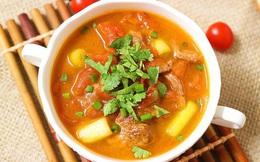 Học ngay cách nấu canh thịt bò dễ dàng mà thơm ngon bất ngờ!