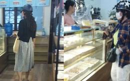 """Hai người phụ nữ đội mũ bảo hiểm, đeo khẩu trang bước vào cửa hàng bánh ngọt với điệu bộ rất """"khả nghi"""", khi biết lý do ai cũng té ngửa"""