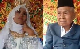 """Dư luận xôn xao trước hôn lễ cụ ông 103 tuổi và cô dâu 27 tuổi, quá trình """"theo đuổi"""" của chú rể càng khiến nhiều người sửng sốt"""